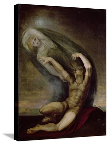 Achilles Searching for the Shade of Patrocles, 1803-Henry Fuseli-Stretched Canvas Print