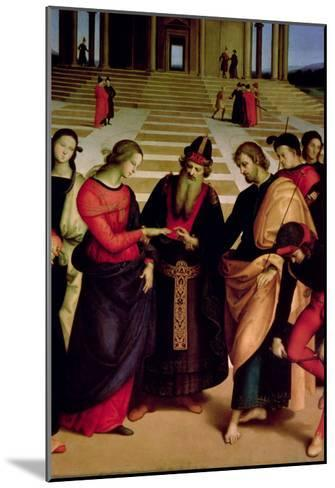 The Marriage of the Virgin, 1504-Raphael-Mounted Giclee Print