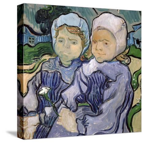 Two Little Girls, c.1890-Vincent van Gogh-Stretched Canvas Print