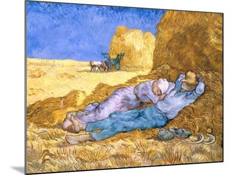 Midday Rest (after Millet), c.1890-Vincent van Gogh-Mounted Giclee Print