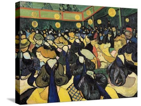 The Dance Hall at Arles, c.1888-Vincent van Gogh-Stretched Canvas Print
