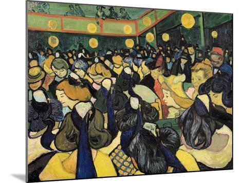 The Dance Hall at Arles, c.1888-Vincent van Gogh-Mounted Giclee Print