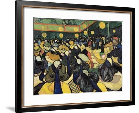 The Dance Hall at Arles, c.1888-Vincent van Gogh-Framed Art Print
