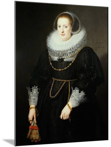 Portrait of a Girl, Aged 18-Michiel Jansz. van Miereveld-Mounted Giclee Print