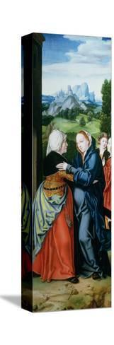 The Visitation-Bartholomaeus Bruyn-Stretched Canvas Print