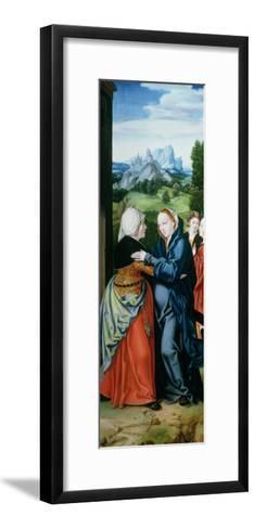 The Visitation-Bartholomaeus Bruyn-Framed Art Print