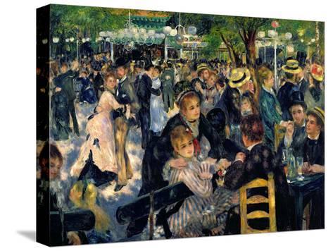 Ball at the Moulin De La Galette, 1876-Pierre-Auguste Renoir-Stretched Canvas Print