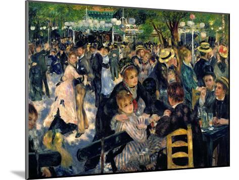 Ball at the Moulin De La Galette, 1876-Pierre-Auguste Renoir-Mounted Giclee Print