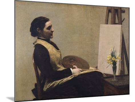 The Study-Henri Fantin-Latour-Mounted Giclee Print