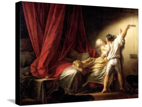 The Bolt, circa 1778-Jean-Honor? Fragonard-Stretched Canvas Print