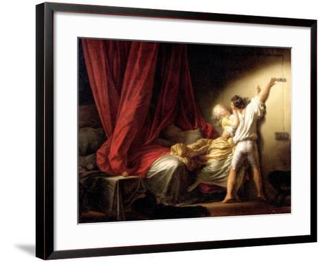 The Bolt, circa 1778-Jean-Honor? Fragonard-Framed Art Print