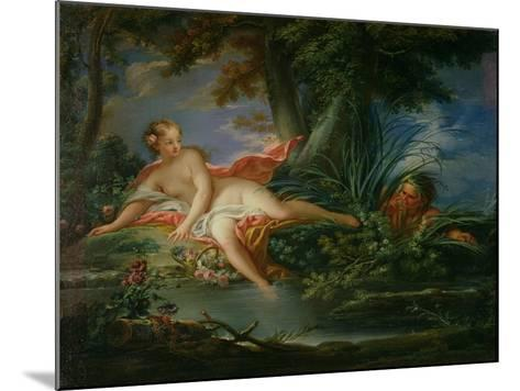 The Bather Surprised-Francois Boucher-Mounted Giclee Print