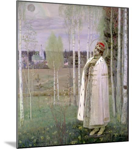 Tsarevich Dimitry, Son of the Assassinated Tsar Nicholas-Mikhail Vasilievich Nesterov-Mounted Giclee Print
