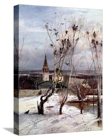 The Rooks Have Returned, 1871-Aleksei Kondratevich Savrasov-Stretched Canvas Print
