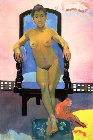 Annah the Javanese, 1893-94-Paul Gauguin-Stretched Canvas Print