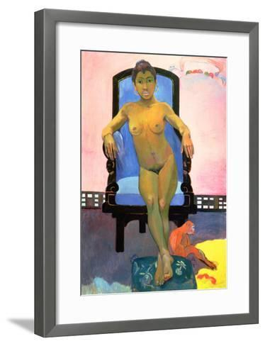 Annah the Javanese, 1893-94-Paul Gauguin-Framed Art Print