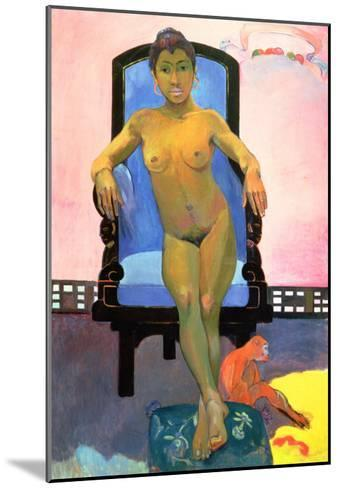 Annah the Javanese, 1893-94-Paul Gauguin-Mounted Giclee Print