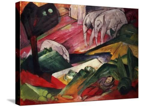 The Dream-Franz Marc-Stretched Canvas Print