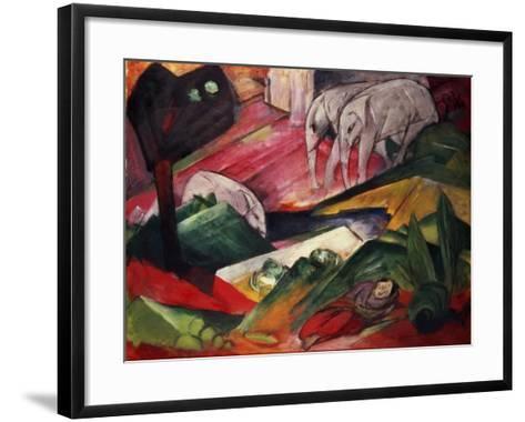 The Dream-Franz Marc-Framed Art Print