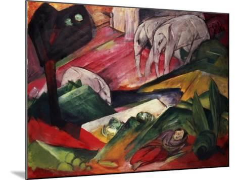 The Dream-Franz Marc-Mounted Giclee Print