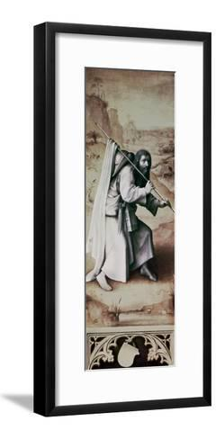 St. James the Greater, Exterior of Left Wing of Last Judgement Altarpiece-Hieronymus Bosch-Framed Art Print