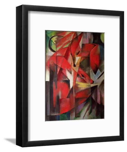The Fox, 1913-Franz Marc-Framed Art Print
