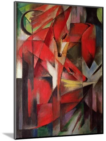 The Fox, 1913-Franz Marc-Mounted Giclee Print