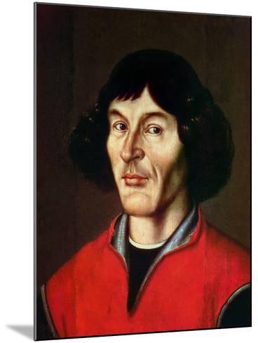 Portrait of Nicolaus Copernicus (1473-1543)- Pomeranie-Mounted Giclee Print