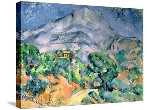 Mont Saint Victoire, 1900-Paul C?zanne-Stretched Canvas Print