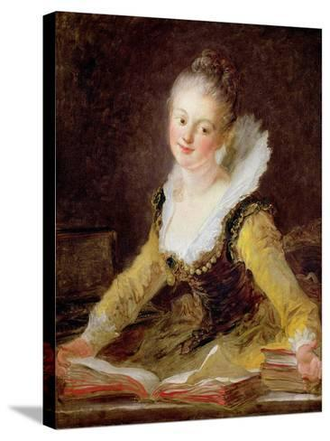 The Study, or the Song, circa 1769-Jean-Honor? Fragonard-Stretched Canvas Print