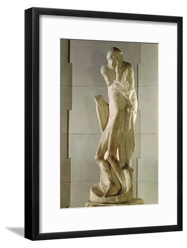 Rondanini Pieta, 1564-Michelangelo Buonarroti-Framed Art Print