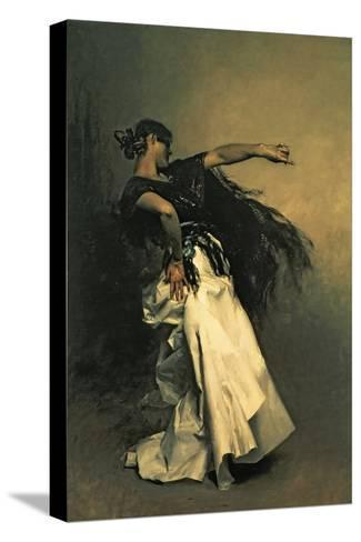 """The Spanish Dancer, Study for """"El Jaleo,"""" 1882-John Singer Sargent-Stretched Canvas Print"""