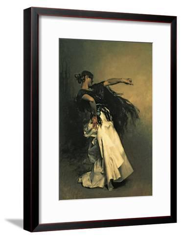 """The Spanish Dancer, Study for """"El Jaleo,"""" 1882-John Singer Sargent-Framed Art Print"""