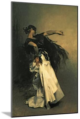 """The Spanish Dancer, Study for """"El Jaleo,"""" 1882-John Singer Sargent-Mounted Giclee Print"""
