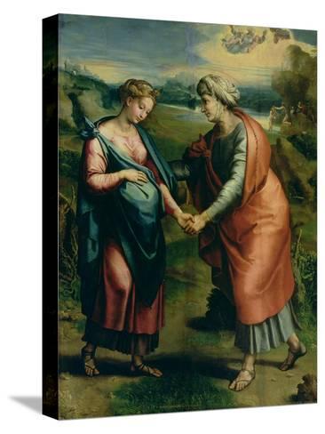 The Visitation-Raphael-Stretched Canvas Print