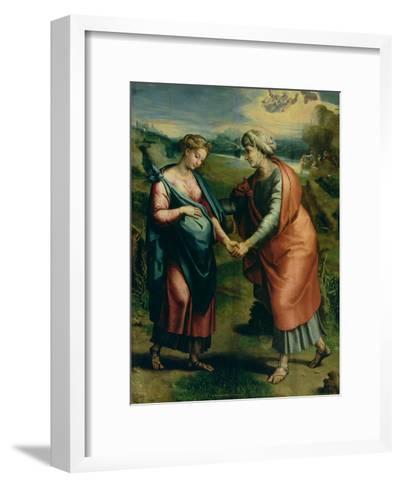 The Visitation-Raphael-Framed Art Print