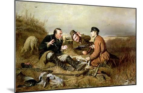 Hunters, 1816-Vasili Grigorevich Perov-Mounted Giclee Print