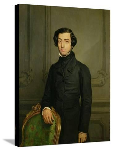 Charles-Alexis-Henri Clerel De Tocqueville (1805-59) 1850-Theodore Chasseriau-Stretched Canvas Print