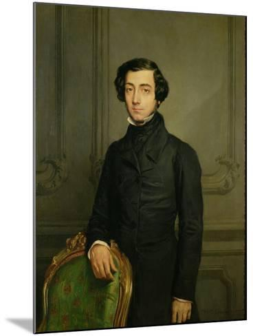 Charles-Alexis-Henri Clerel De Tocqueville (1805-59) 1850-Theodore Chasseriau-Mounted Giclee Print