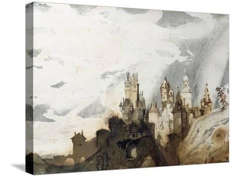 Le Gai Chateau-Victor Hugo-Stretched Canvas Print
