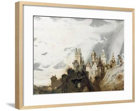 Le Gai Chateau-Victor Hugo-Framed Art Print