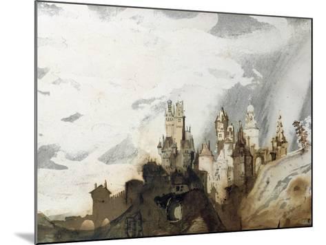 Le Gai Chateau-Victor Hugo-Mounted Giclee Print