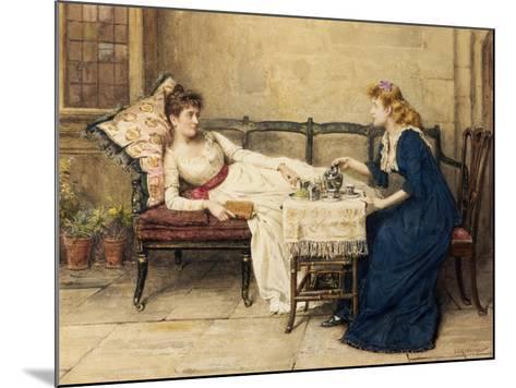 Afternoon Tea-George Goodwin Kilburne-Mounted Giclee Print