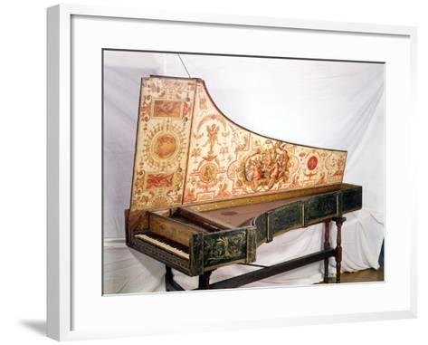 Gilded and Painted Harpsichord by Giovanni Antonio Bafto, Venice, 1774--Framed Art Print
