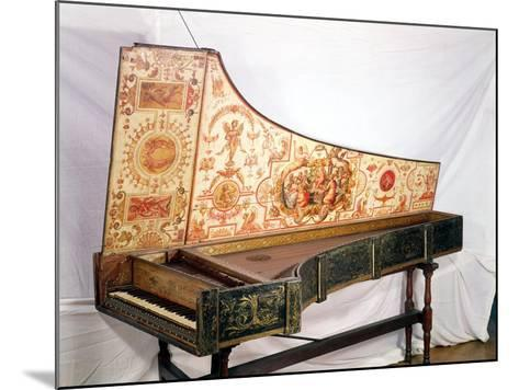 Gilded and Painted Harpsichord by Giovanni Antonio Bafto, Venice, 1774--Mounted Giclee Print