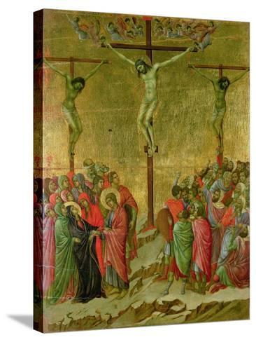 Crucifixion-Duccio di Buoninsegna-Stretched Canvas Print