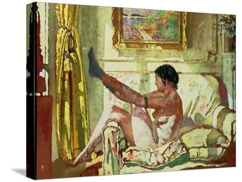 Sunlight-Sir William Orpen-Stretched Canvas Print