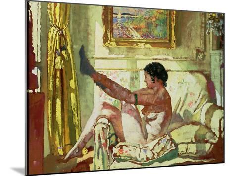 Sunlight-Sir William Orpen-Mounted Giclee Print