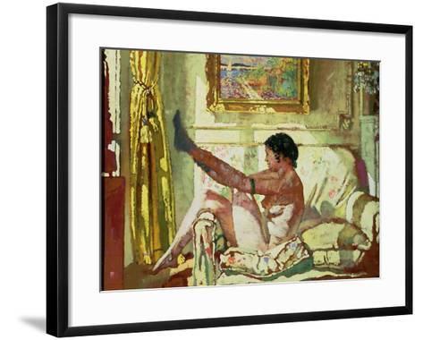Sunlight-Sir William Orpen-Framed Art Print