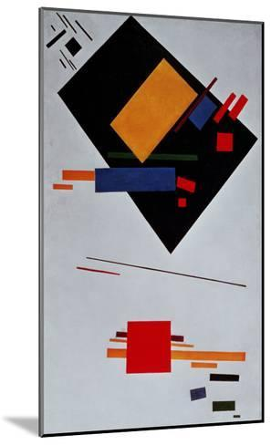 Suprematist Composition, 1915-Kasimir Malevich-Mounted Giclee Print